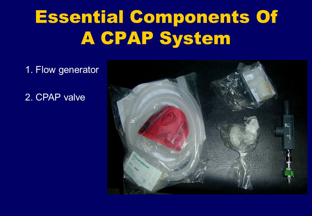 Essential Components Of A CPAP System