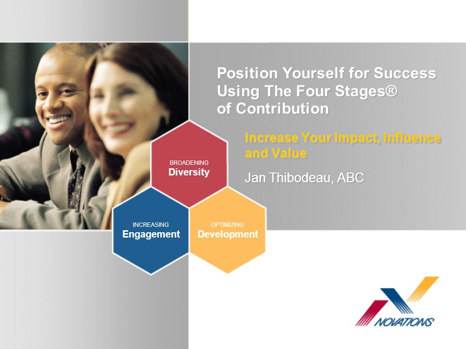 Position Yourself for Success Using The Four Stages® of Contribution