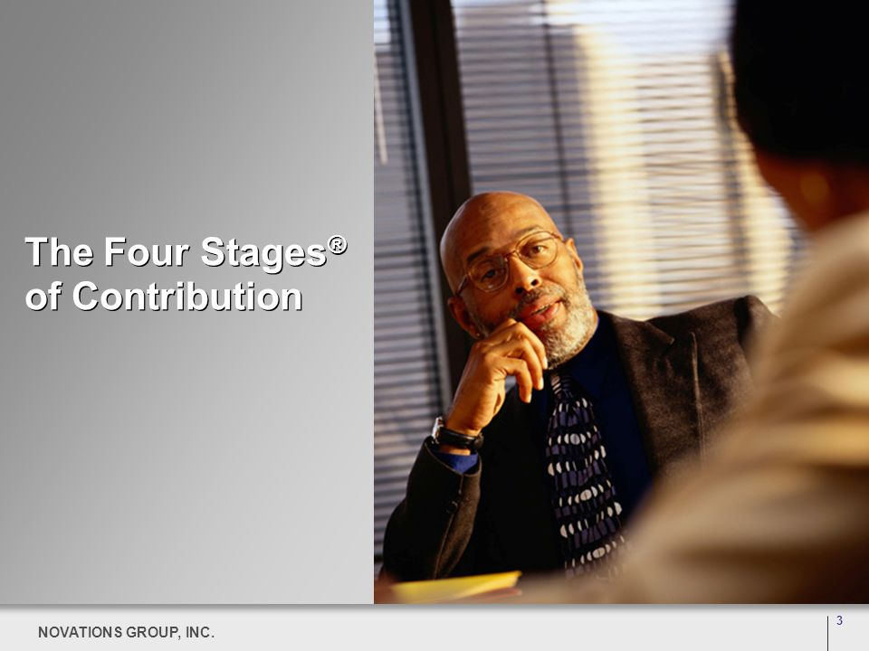 The Four Stages® of Contribution