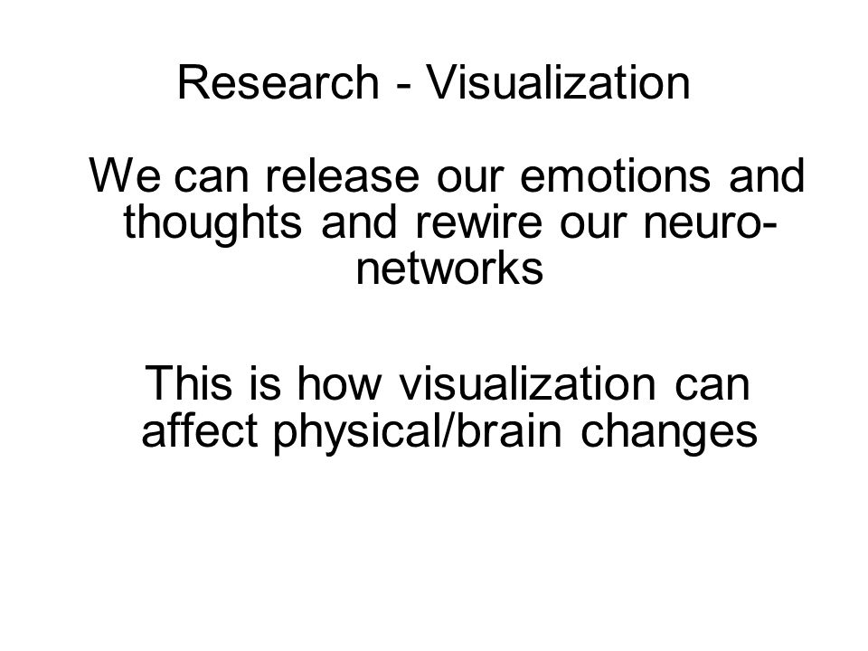 Research - Visualization