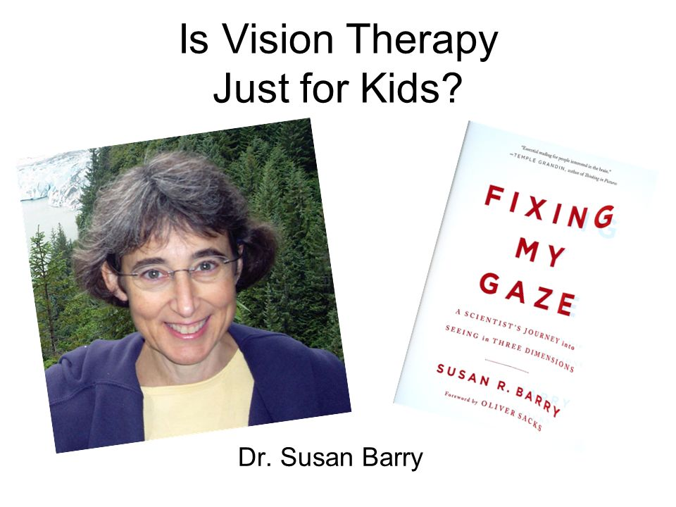 Is Vision Therapy Just for Kids