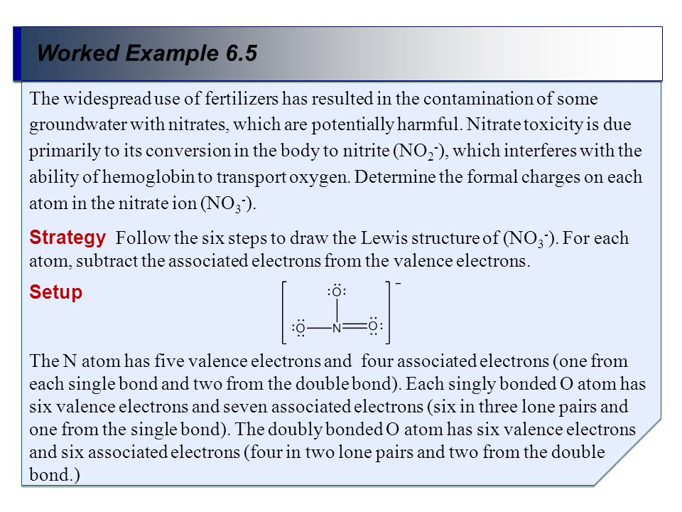 Worked Example 6.5