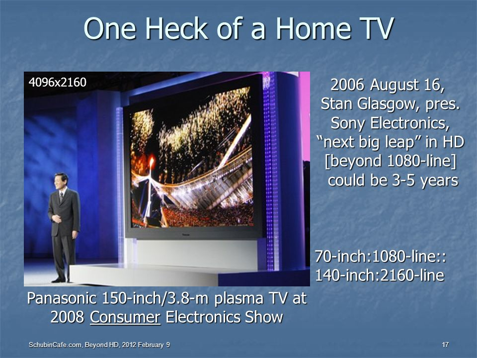 One Heck of a Home TV 2006 August 16, Stan Glasgow, pres.