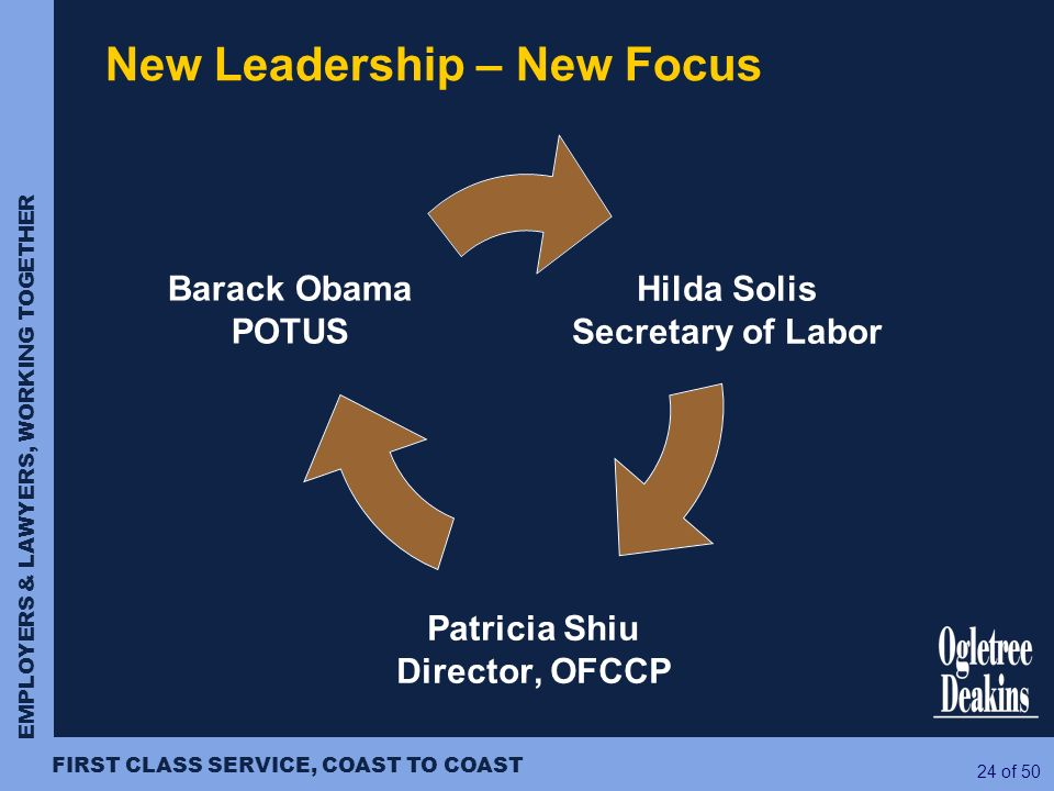 New Leadership – New Focus