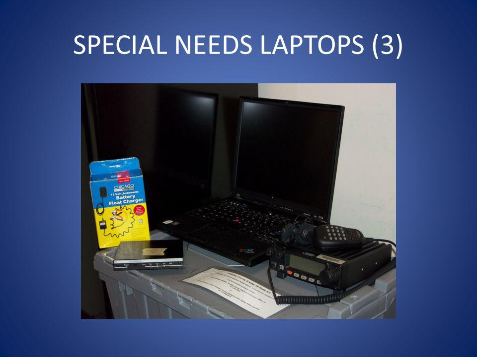 SPECIAL NEEDS LAPTOPS (3)