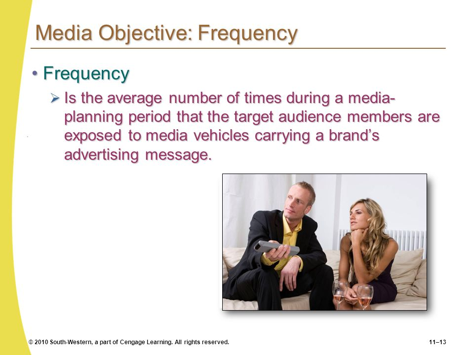 Media Objective: Frequency