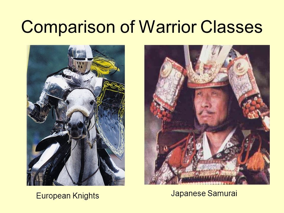 Comparison of Warrior Classes