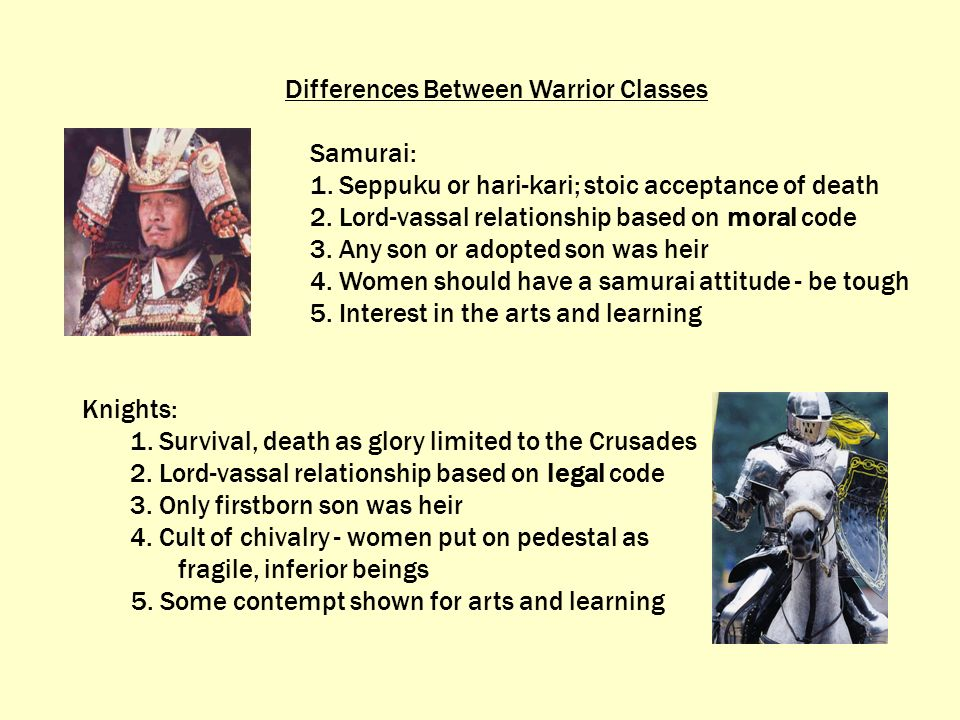 Differences Between Warrior Classes