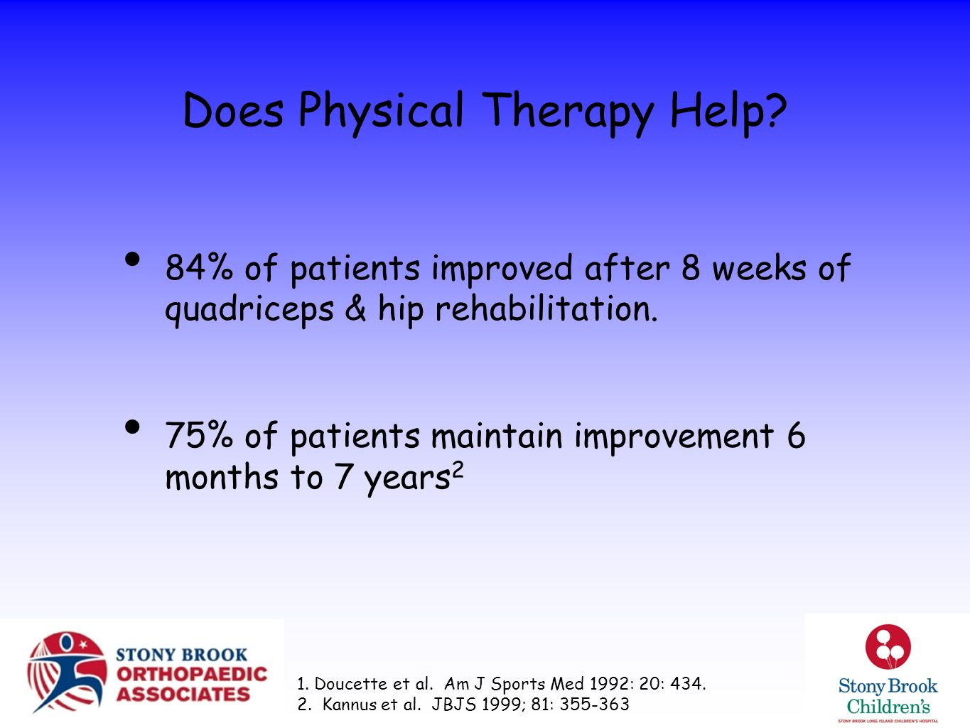 Does Physical Therapy Help