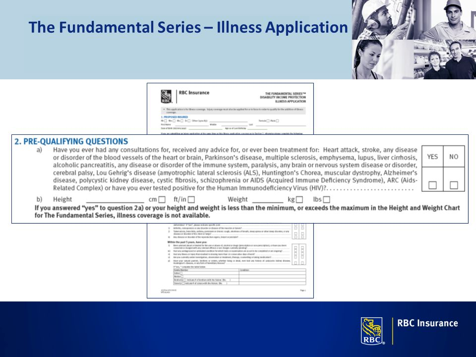 The Fundamental Series – Illness Application