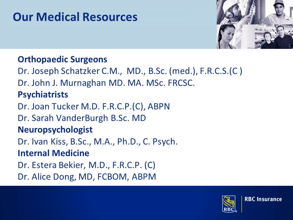 Our Medical Resources Orthopaedic Surgeons