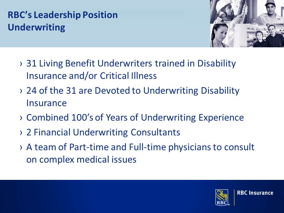 RBC's Leadership Position Underwriting