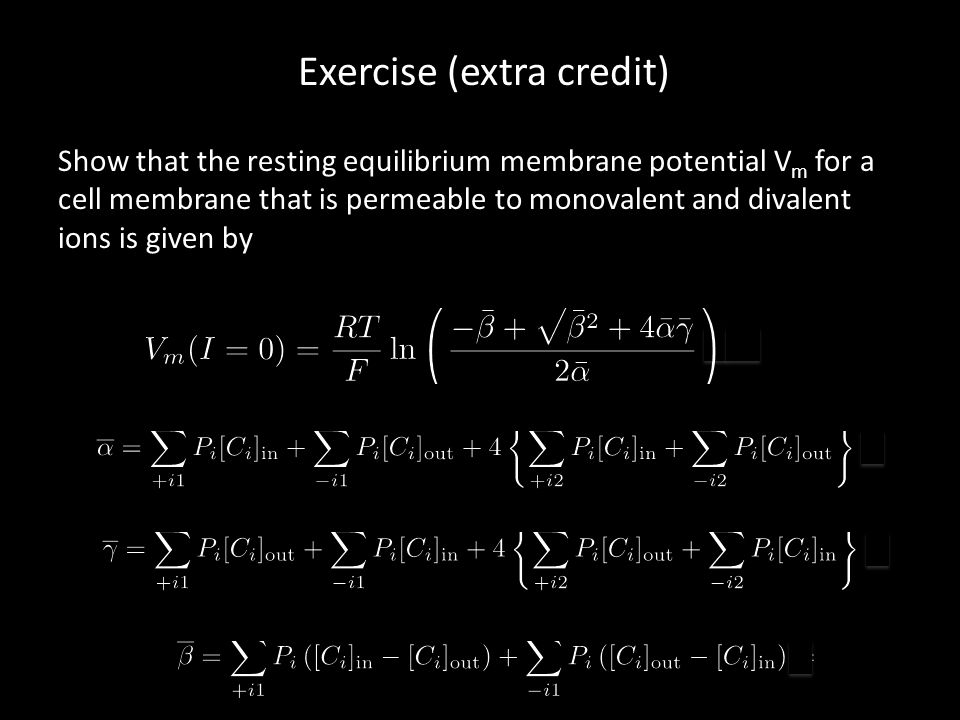 Exercise (extra credit)