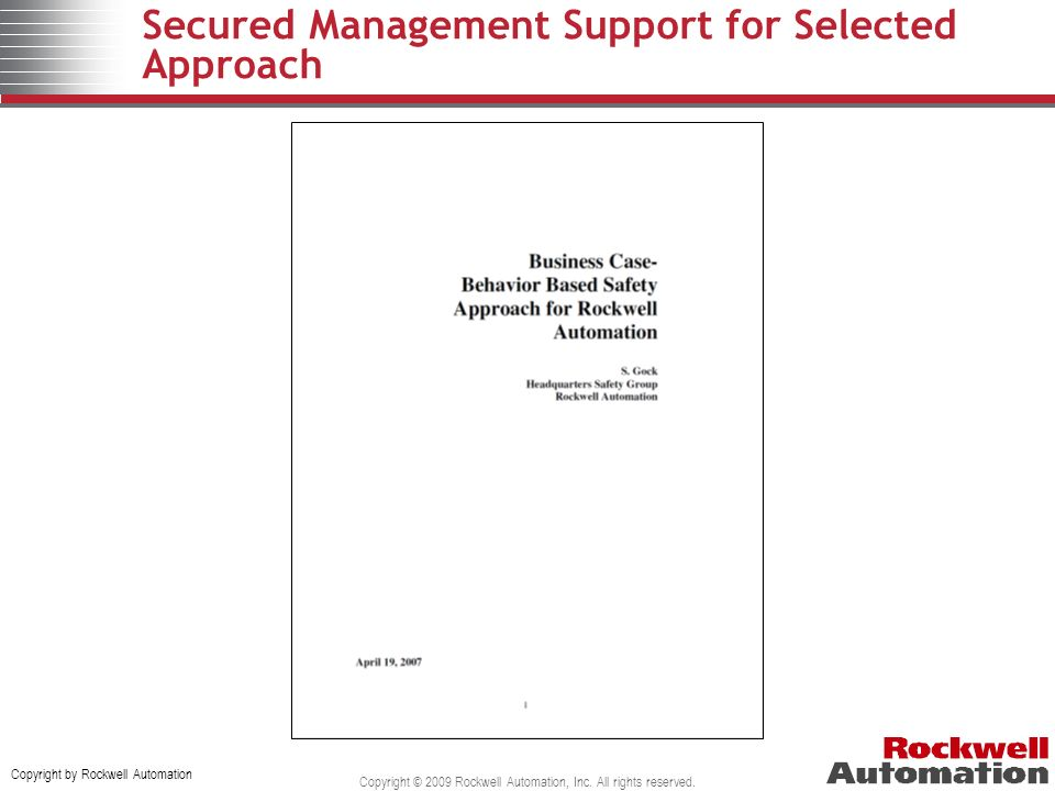 Secured Management Support for Selected Approach