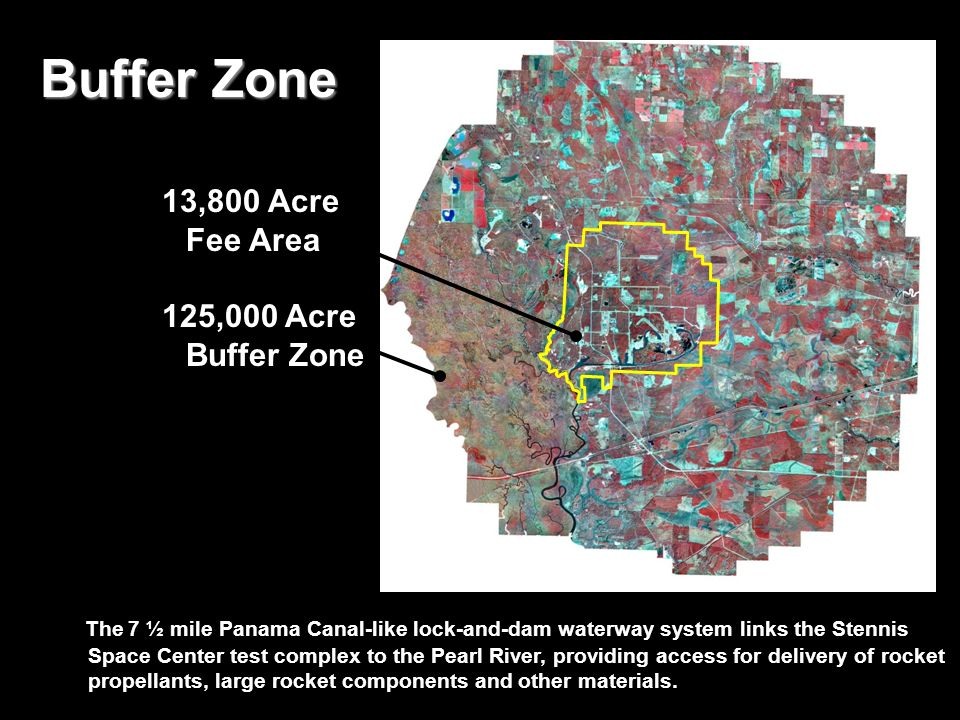 Buffer Zone 13,800 Acre Fee Area 125,000 Acre Buffer Zone