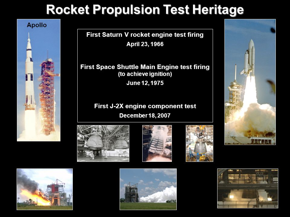 Rocket Propulsion Test Heritage