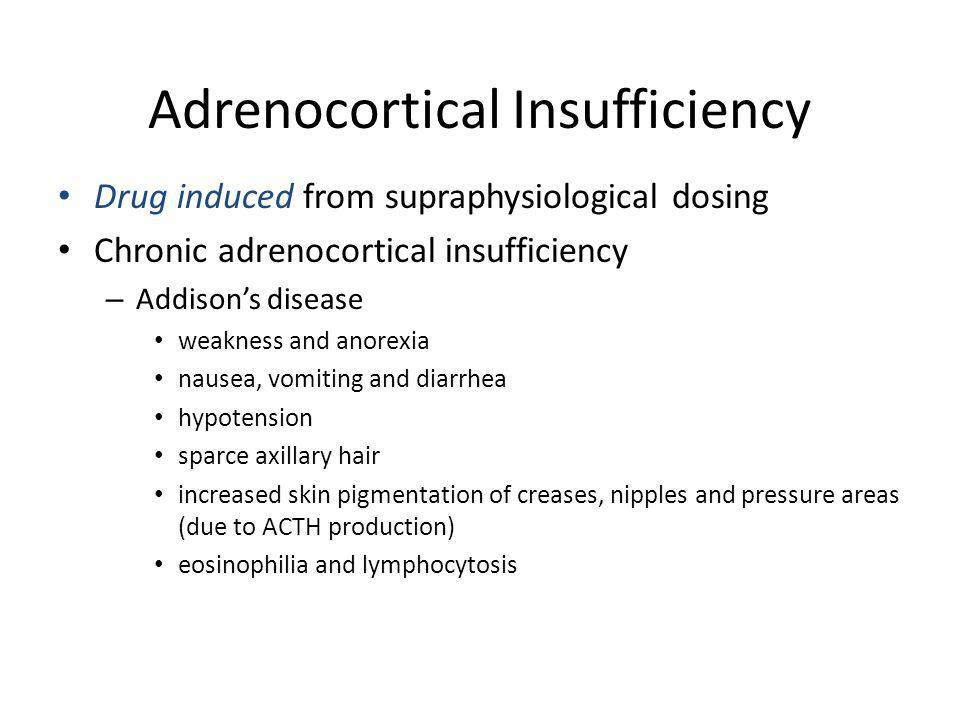 Adrenocortical Insufficiency