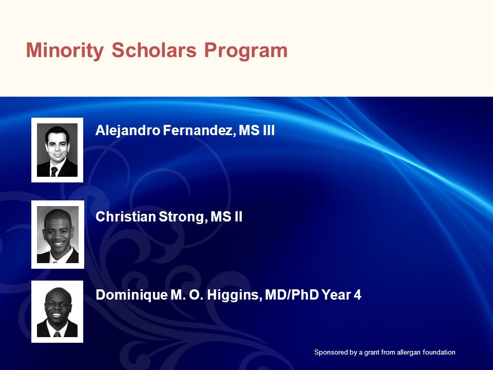 Minority Scholars Program