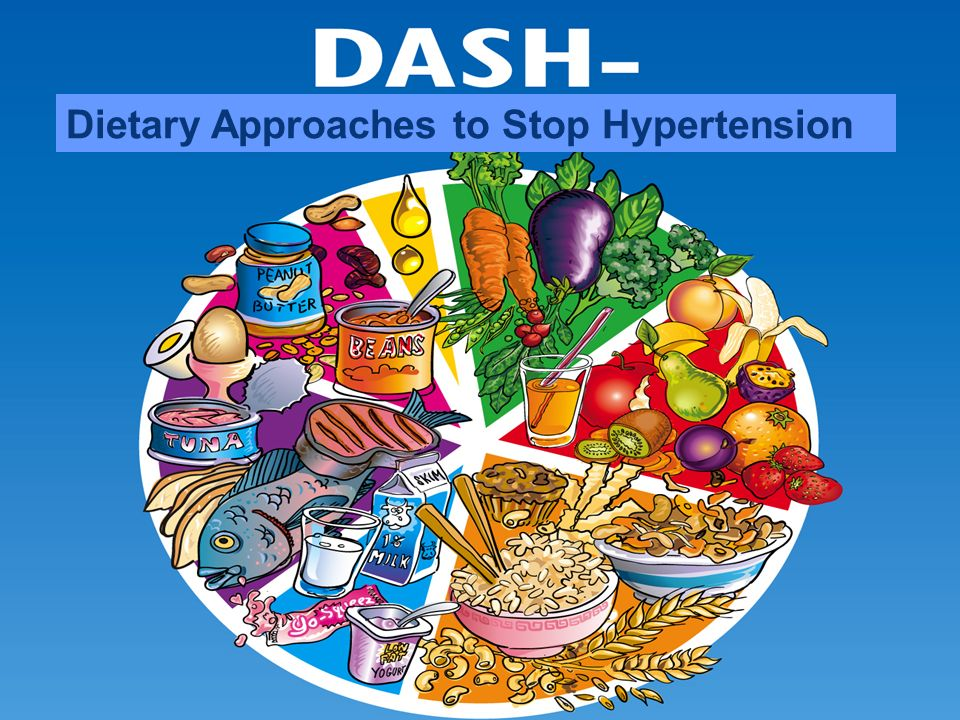 Comparison of the DASH (Dietary Approaches to Stop ...