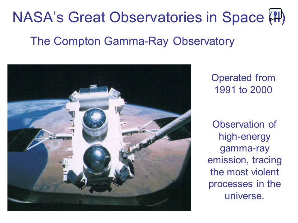 NASA's Great Observatories in Space (II)