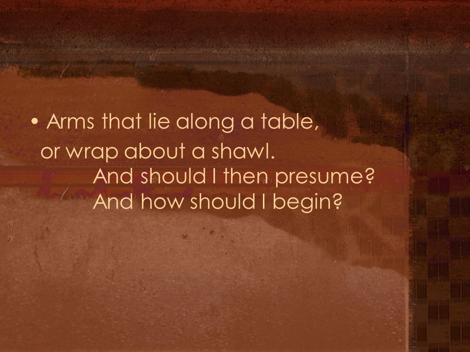 Arms that lie along a table,