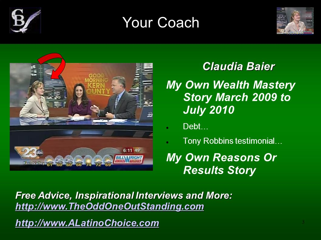 Your Coach Claudia Baier
