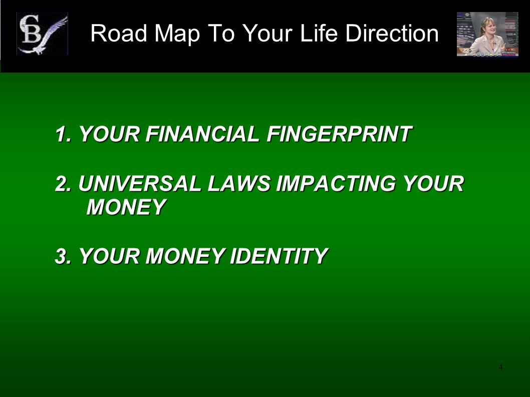 Road Map To Your Life Direction