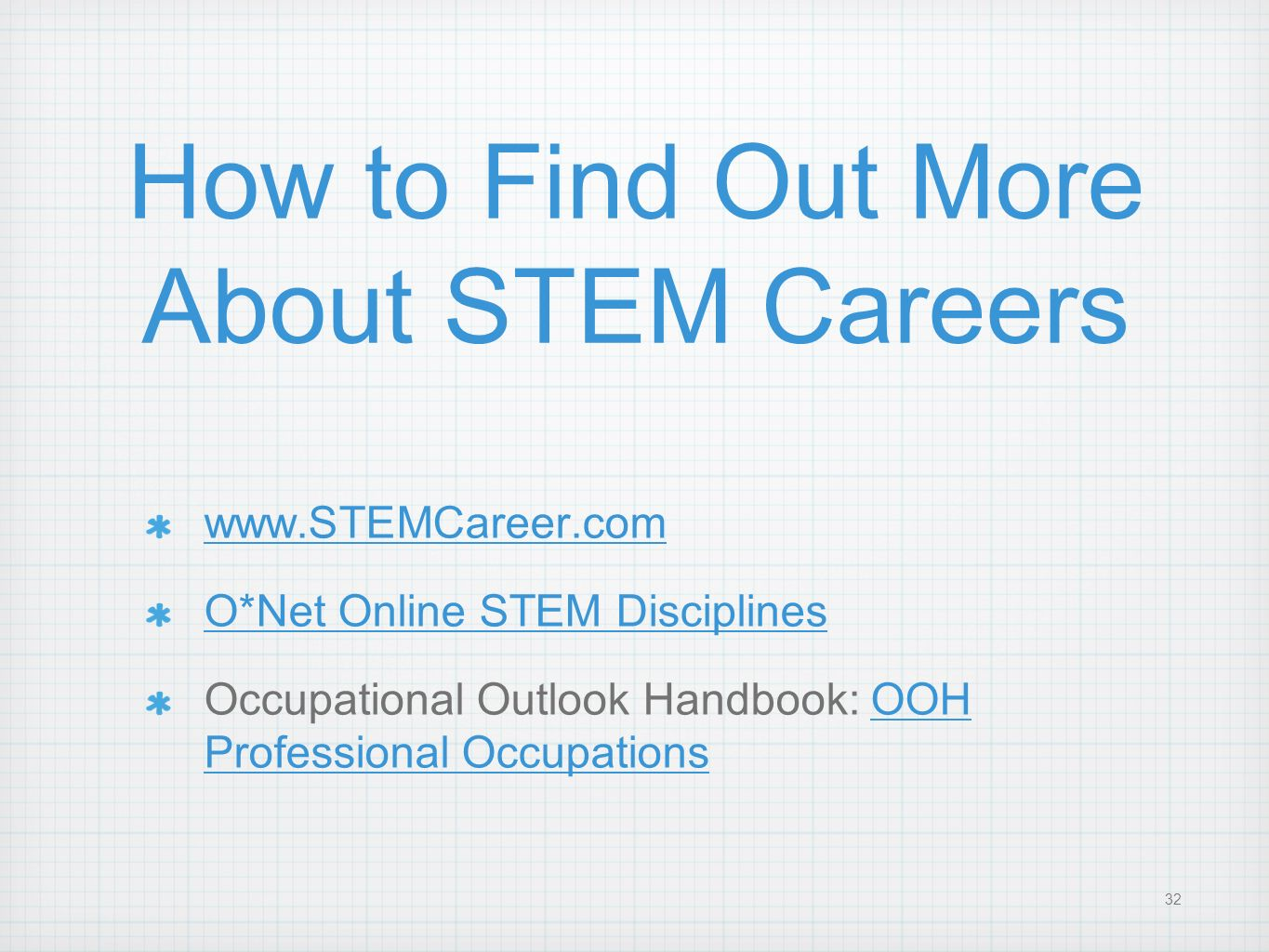 How to Find Out More About STEM Careers