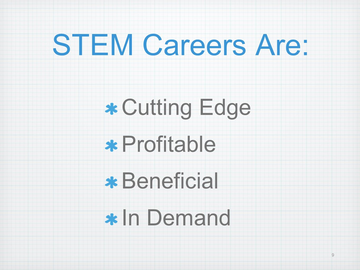 STEM Careers Are: Cutting Edge Profitable Beneficial In Demand