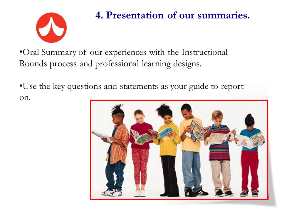 4. Presentation of our summaries.