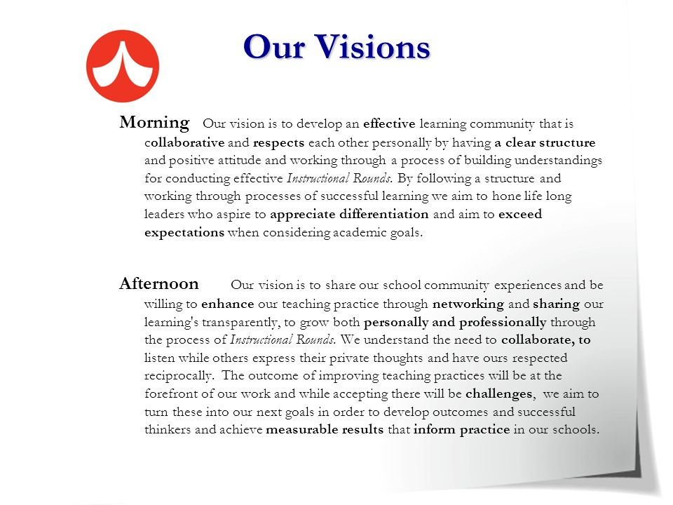 Our Visions