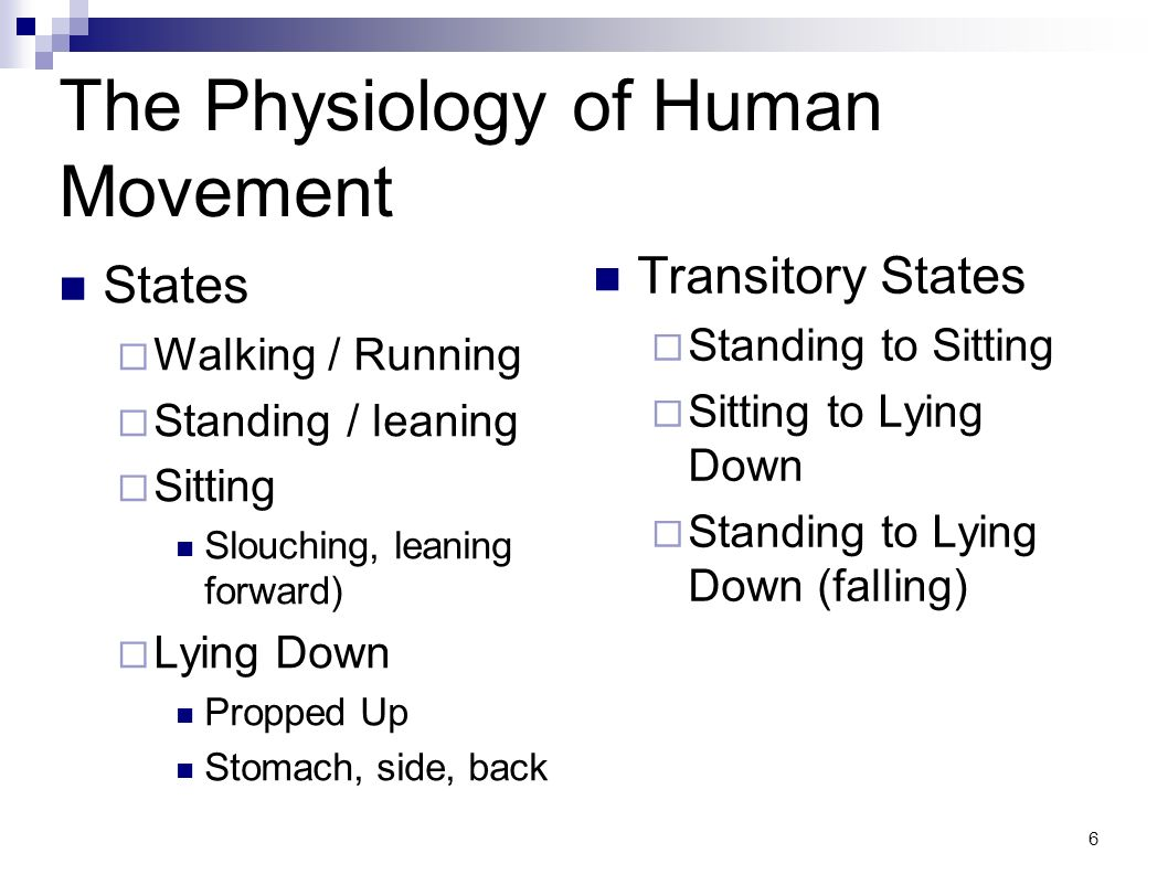 The Physiology of Human Movement