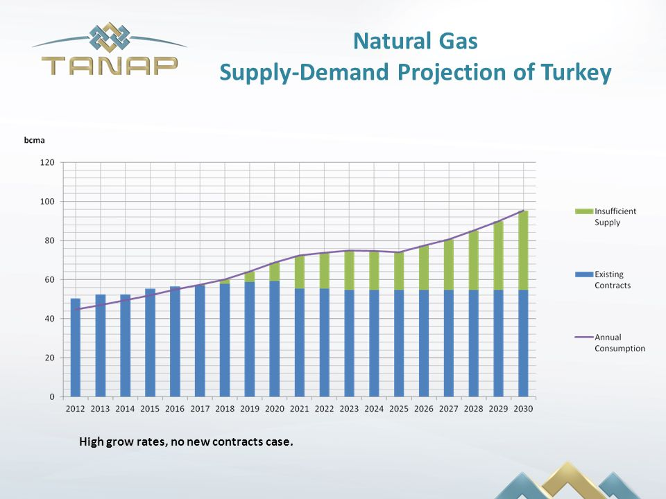 Supply-Demand Projection of Turkey
