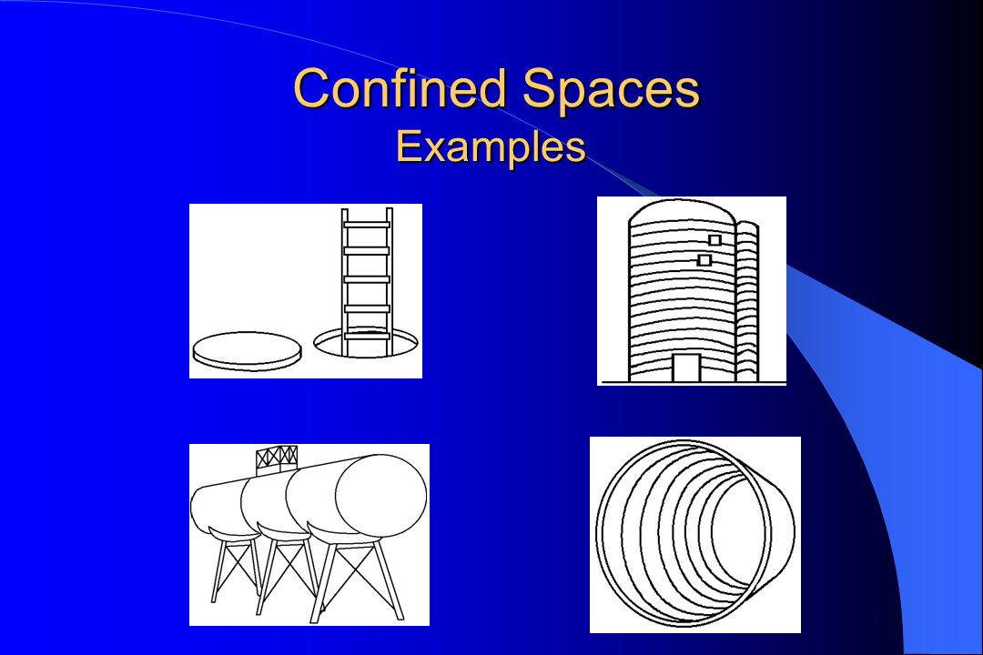 Confined Spaces Examples