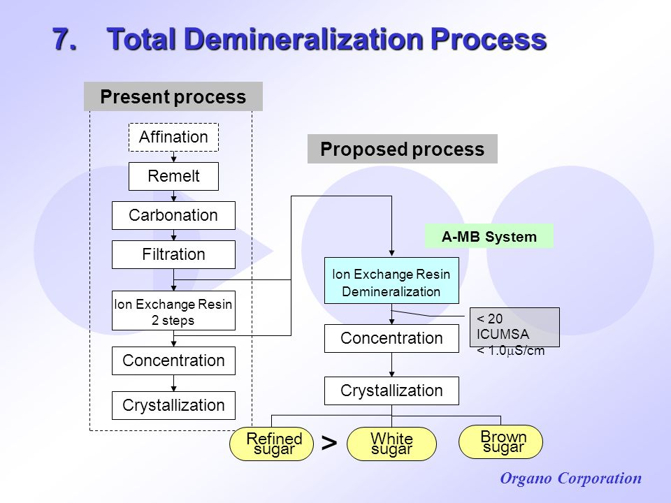 7. Total Demineralization Process
