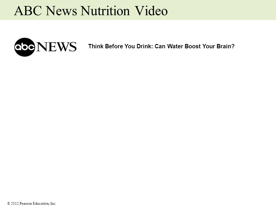 ABC News Nutrition Video