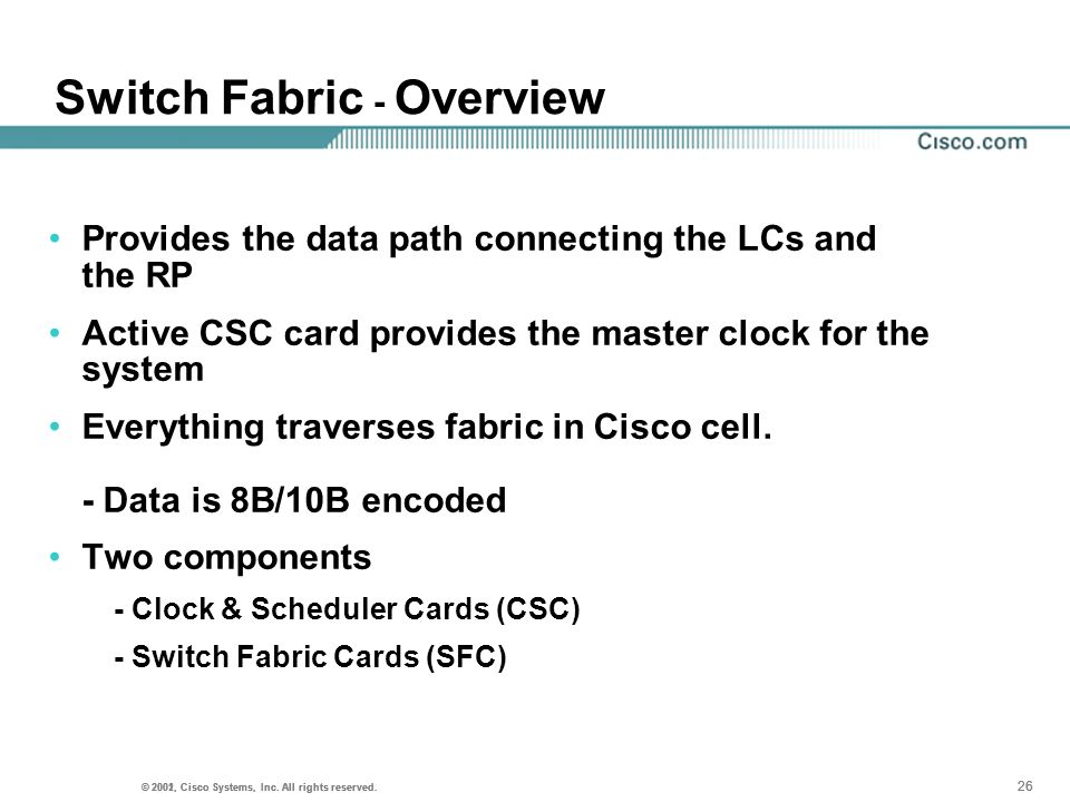 Switch Fabric - Overview