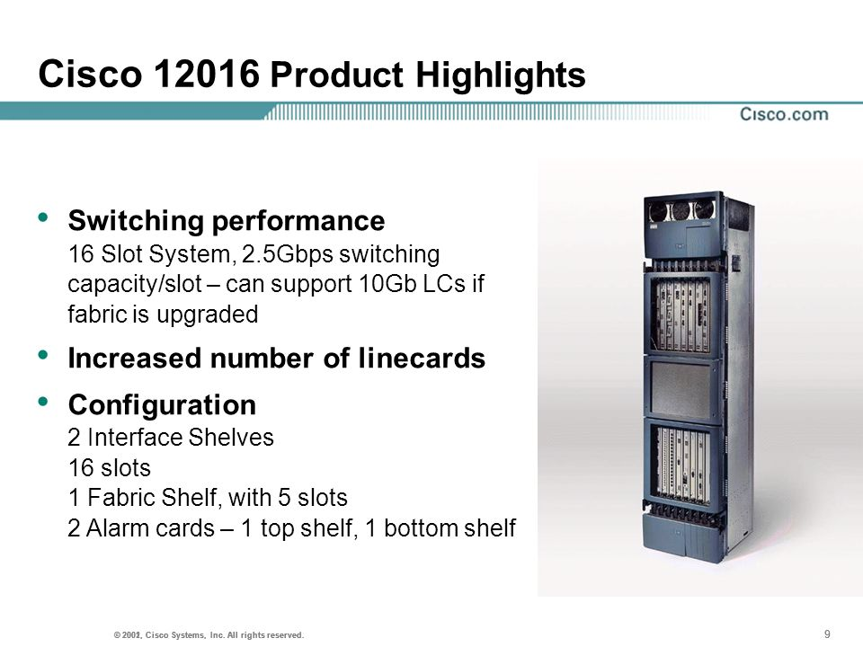 Cisco Product Highlights