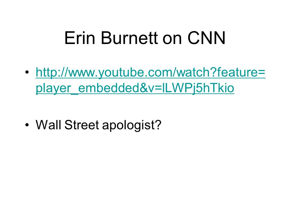 Erin Burnett on CNN   feature=player_embedded&v=lLWPj5hTkio.