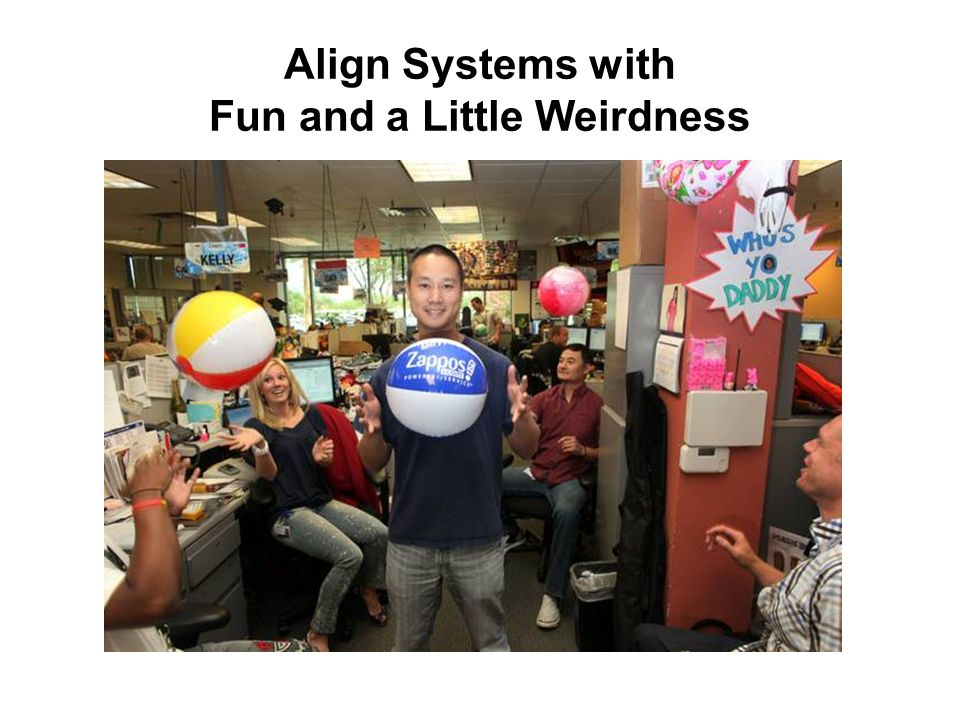 Align Systems with Fun and a Little Weirdness