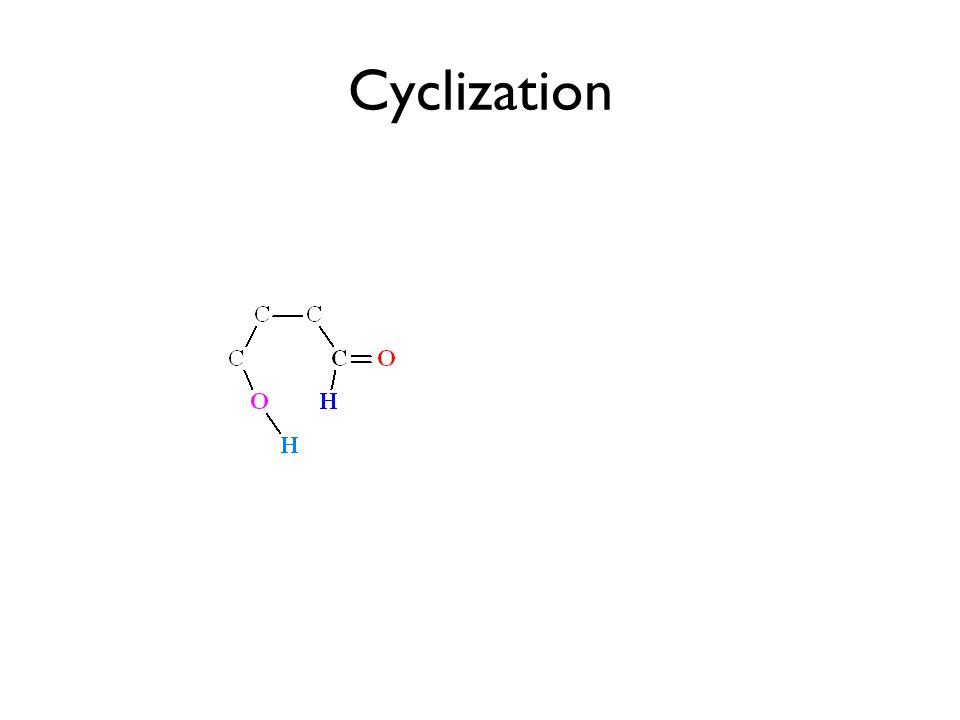 Cyclization