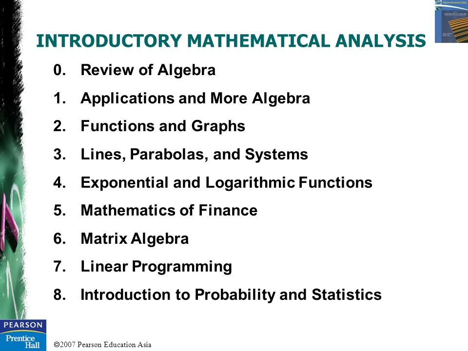 an analysis of the mathematics in education Yet, research in mathematics education can also be counterproductive or fall short of what we would expect in these ways: • it can confuse situations (eg, about which math curriculum is the best.