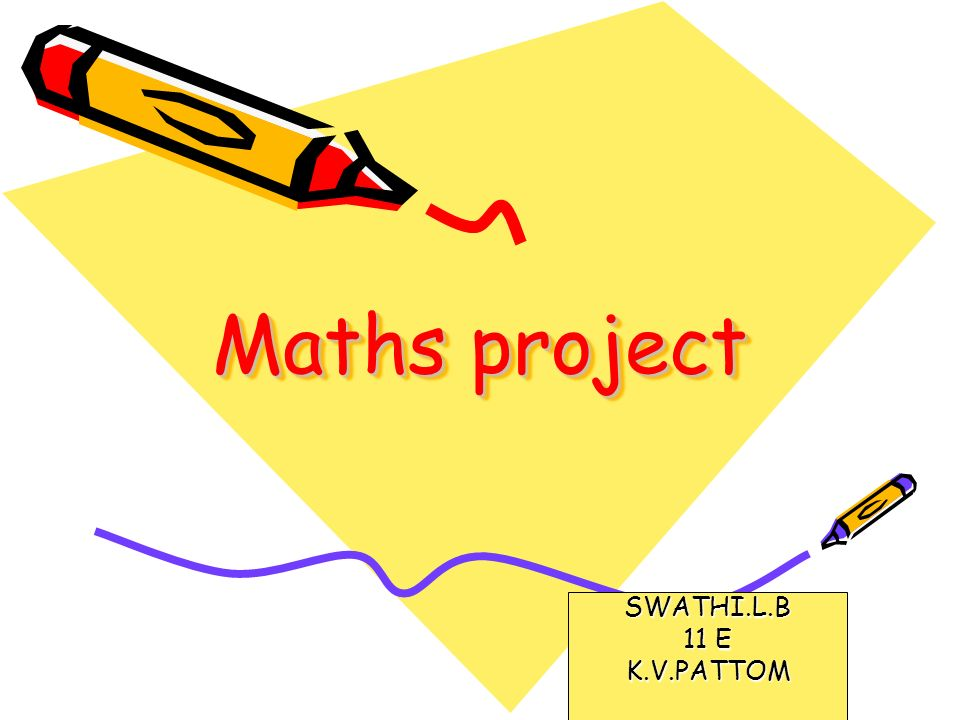 Maths project SWATHI.L.B 11 E K.V.PATTOM