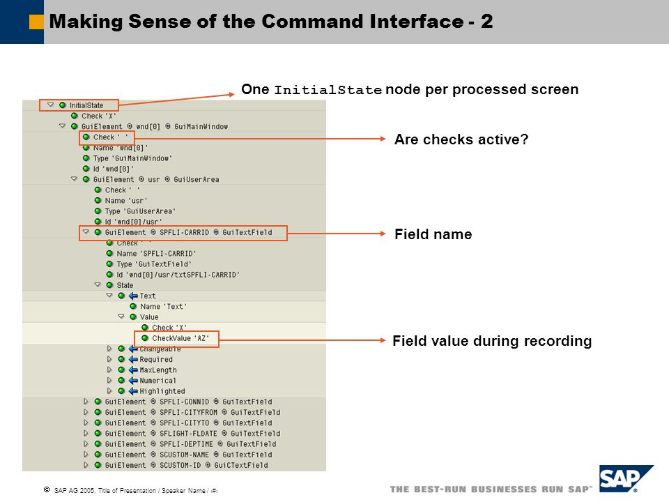 Making Sense of the Command Interface - 2