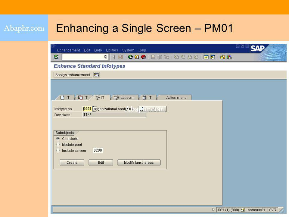 Enhancing a Single Screen – PM01