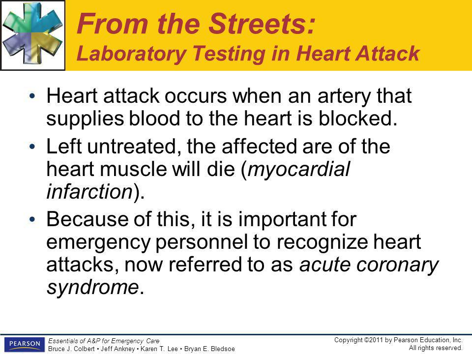 From the Streets: Laboratory Testing in Heart Attack