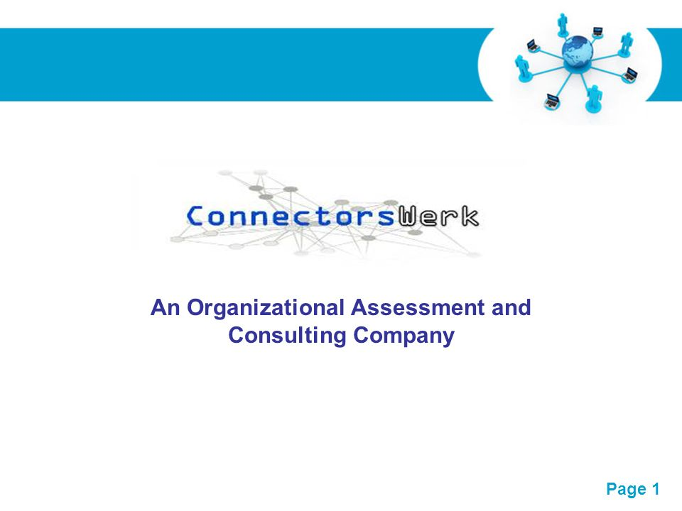 An Organizational Assessment and Consulting Company