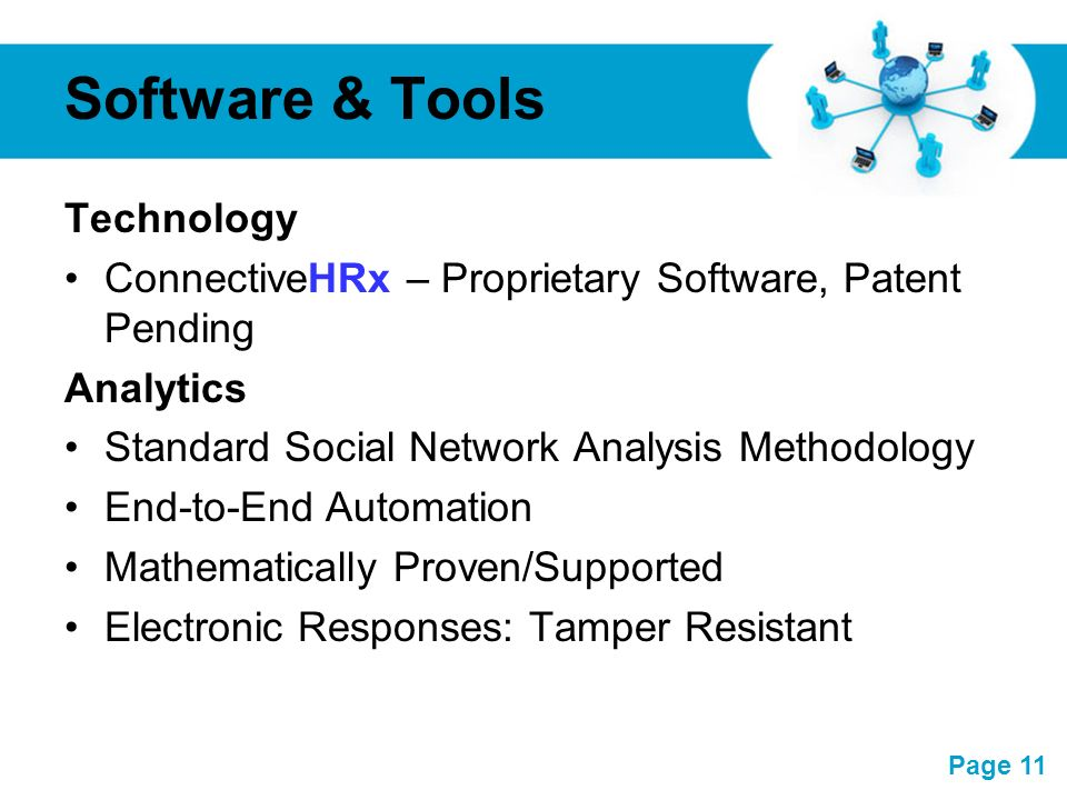 Software & Tools Technology