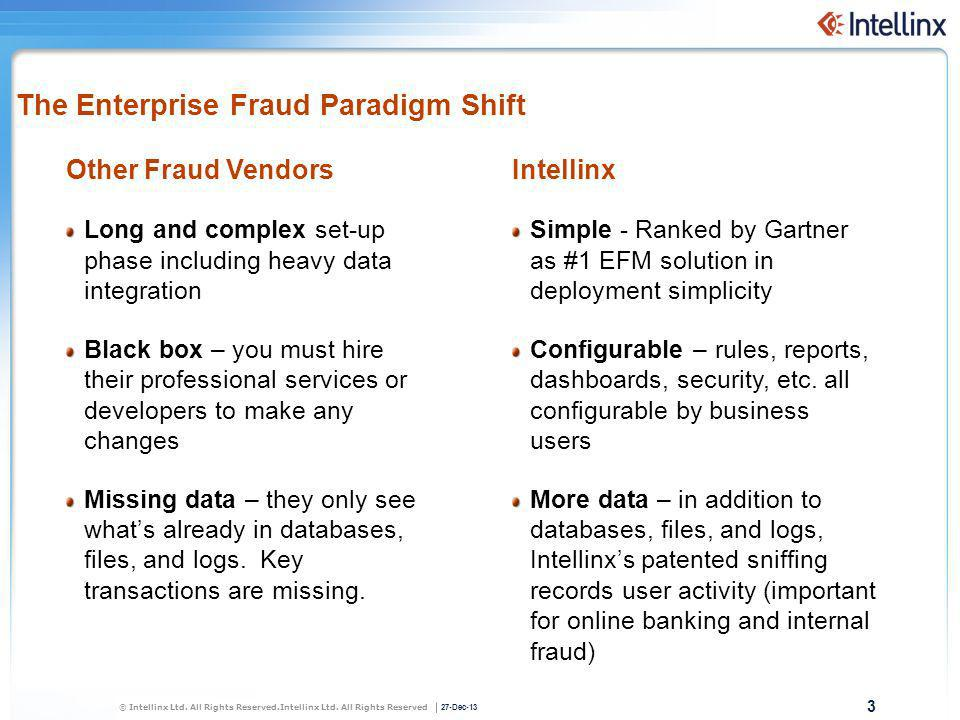 The Enterprise Fraud Paradigm Shift
