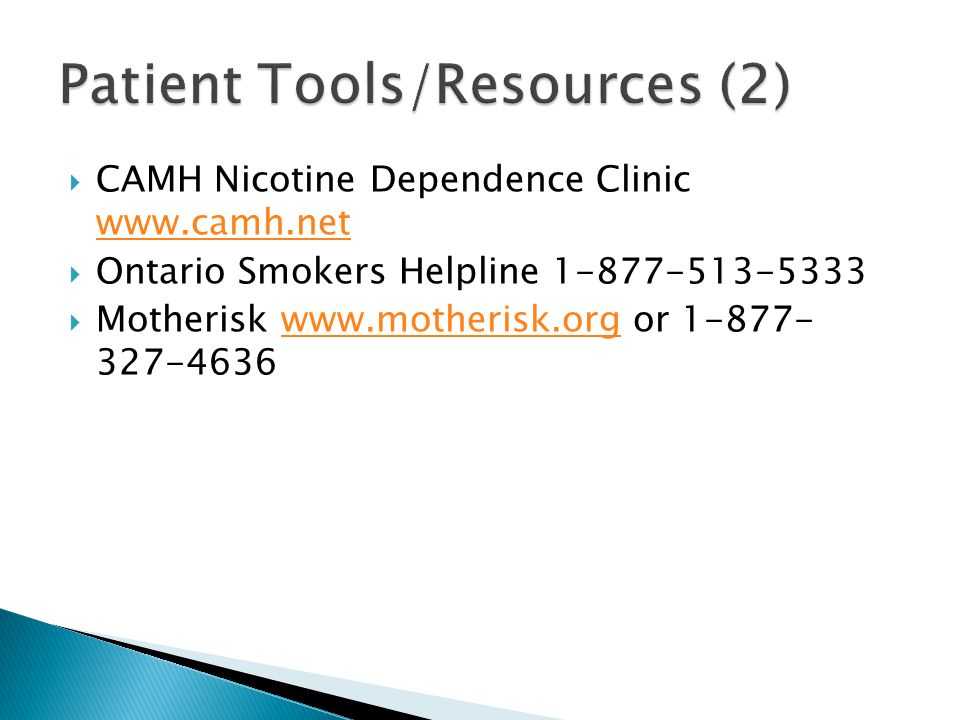 Patient Tools/Resources (2)